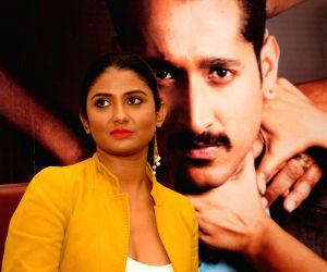 Actress Parno Mitra film promotion