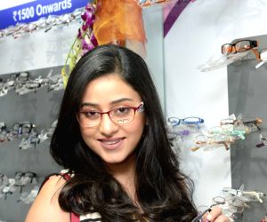 Ridhima Ghosh at the launch of an optical store