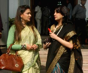 Debashree Roy, Nayna Bandyopadhyay at WB Assembly