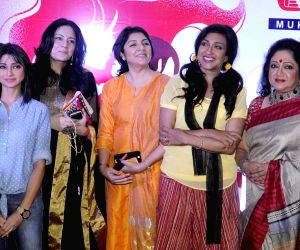 Rituparna Sengupta during a Mothers' Day programme