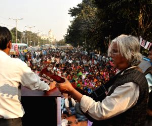 AICCTU protest against Central Government