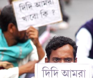 All Bengal Minority Cell demonstration