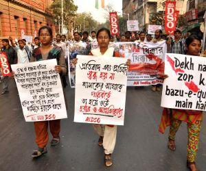 AIDSO protest against WB Govt