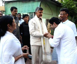 Naidu meets Mamata in Kolkata to discuss post-poll strategy