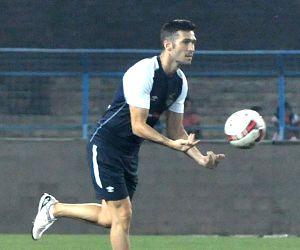 Atletico de Kolkata - practice session
