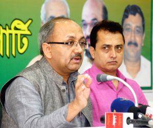Siddharth Nath Singh's press conference