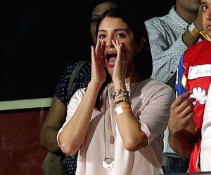 IPL - RCB vs KKR - Anushka Sharma
