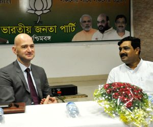British Deputy High Commissioner meets Rahul Sinha