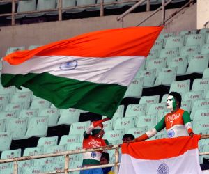 Cricketers celebrate 150 years of the Eden Gardens