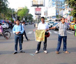 DYFI demonstration against the national budget 2015-16