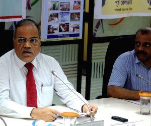RK Gupta's press conference