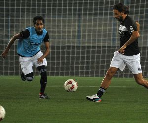FC Goa during a practice session