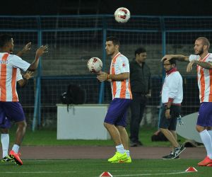 FC Pune City - practice session