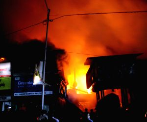 Fire at Bowbazar plywood godown