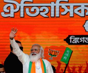 Modi reaches out to weaker sections at Bengal rally