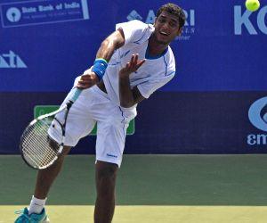 Emami Kolkata Open 2015- ATP Challenger - Chen Ti Vs Ramkumar Ramanathan