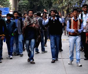 JU students' protest rally against VC