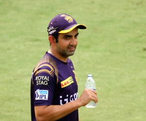Practice session - Kolkata Knight Riders