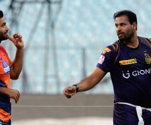 Kolkata Knight Riders - practice session