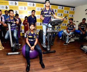 Kolkata Knight Riders visit CMRI hospital