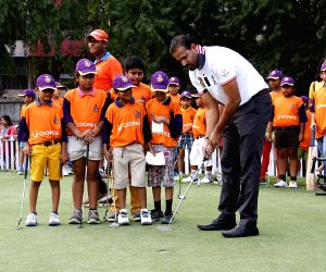KKR team at Royal Calcutta Golf Club
