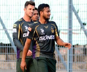 IPL practice session - Kolkata Knight Riders