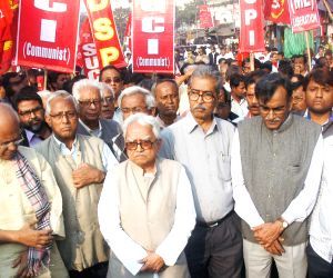 Left front protest rally