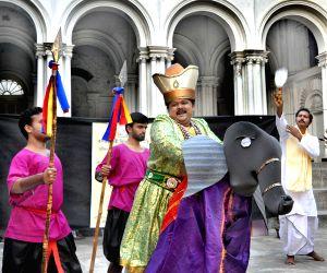 RBU students enact 'Bandi Bihanga'