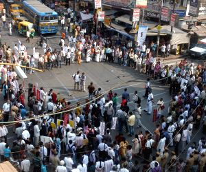 AIDSO protest against gang rape of a nun in West Bengal