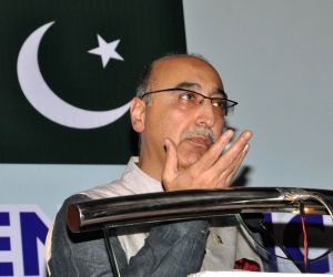 Pakistan High Commissioner during a programme