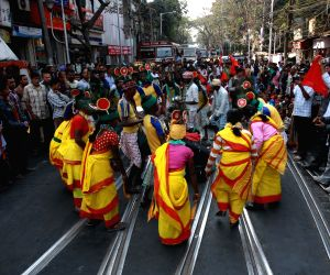 WBKS protest against WB Government