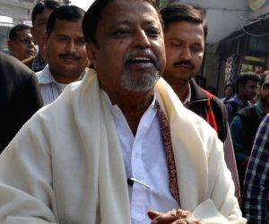 Mukul Roy at CM house