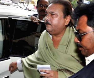 Kolkata: Madan Mitra appears before CBI