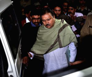 Madan Mitra after being arrested by CBI
