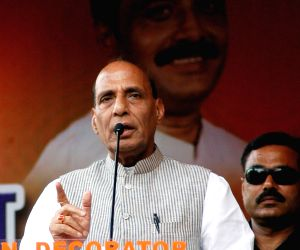 Public meeting - Rajnath Singh
