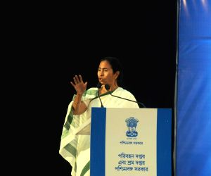 West Bengal CM during a meeting