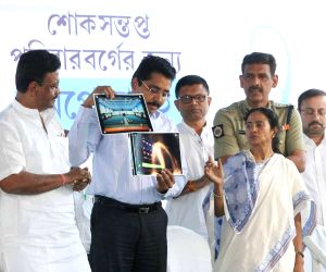 Mamata Banerjee during inauguration of 'Peace World'