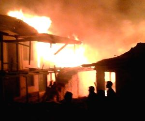 Over 70 houses burnt in Himachal village