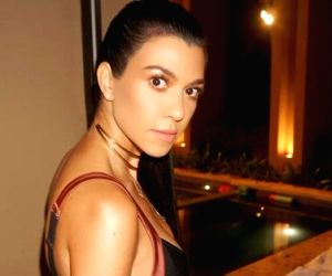 Kourtney's nanny quit after her daughter scratched face