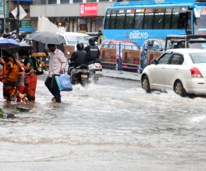Rains hit hard Kerala yet again
