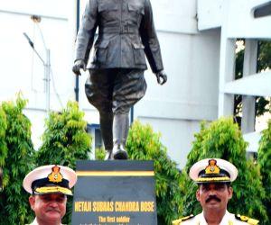Netaji Subhas Chandra Bose's bronze statue