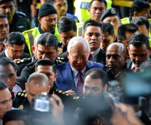 MALAYSIA KUALA LUMPUR COURT NAJIB CHARGES