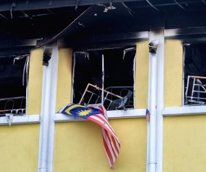 MALAYSIA-KUALA LUMPUR-SCHOOL-ACCIDENT-FIRE