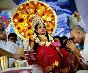 kumari-puja-being-held-on-the-mahashtami-of-durga