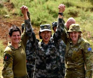 CHINA-AUSTRALIA-YUNNAN-JOINT MILITARY TRAINING