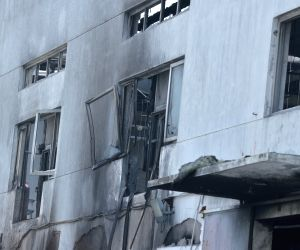 Factory blast