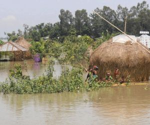 Kurigram (Bangladesh): Flood in Kurigram