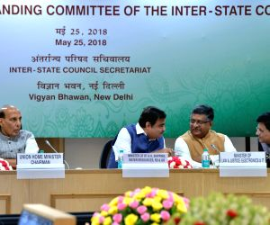 Union Ministers at 13th meeting of Standing Committee of Inter-State Council