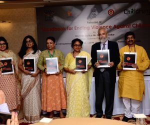 (L-R) Know Violence in Childhood Senior Research fellow Soumya Kapoor Mehta, Supreme Court advocate Aparna Bhat,  ChildFund India Country Director and CEO Neelam Makhijani, National ...