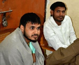 Gayatri Prajapati's son and nephew detained